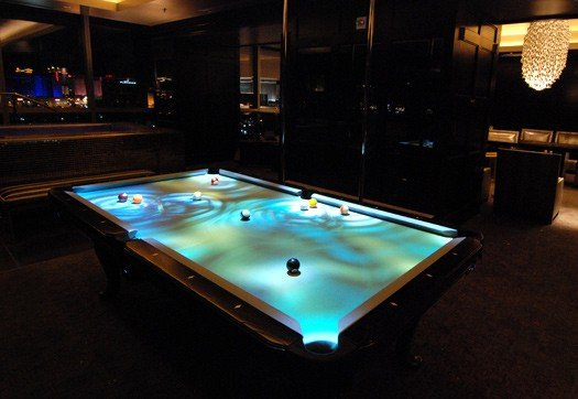 obscura pool table