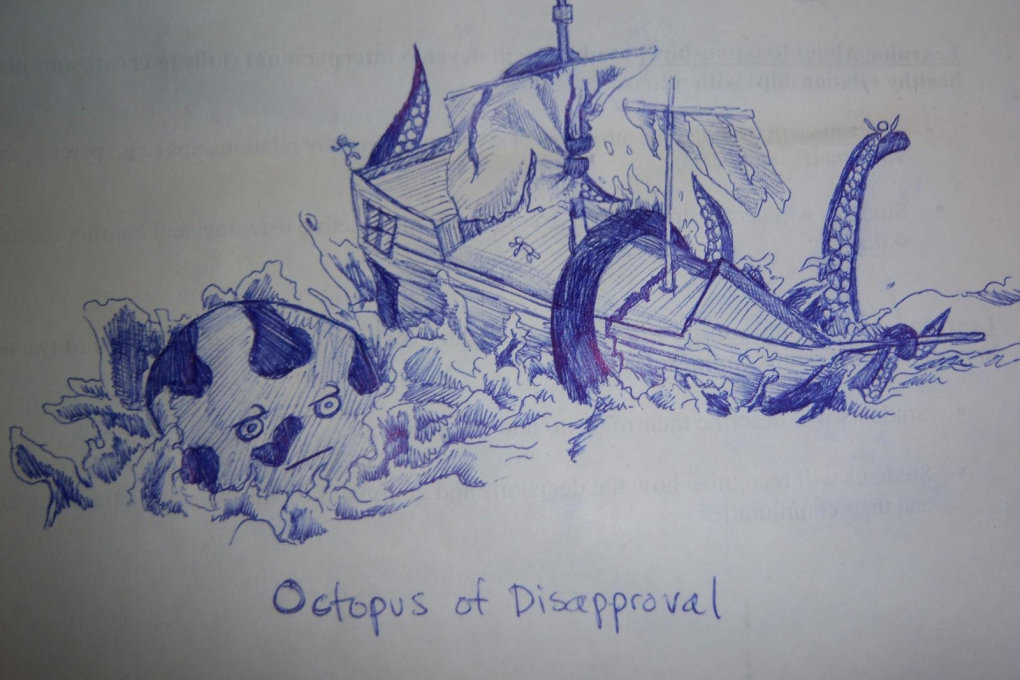 octopus disapproval