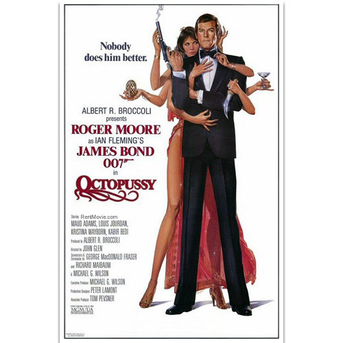 octopussy - what are your top five bond movie