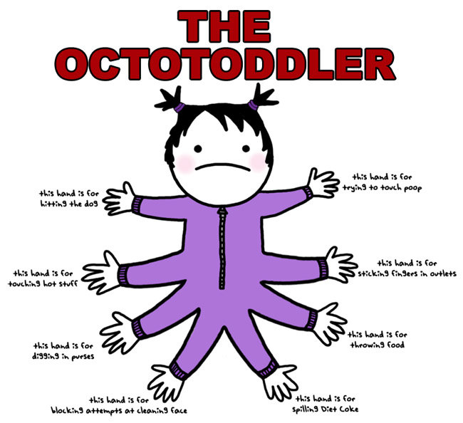 octotoddler - the octotoddler