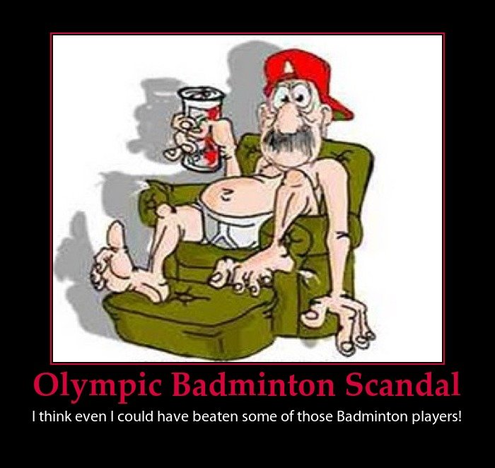 olympic badminton scandal funny