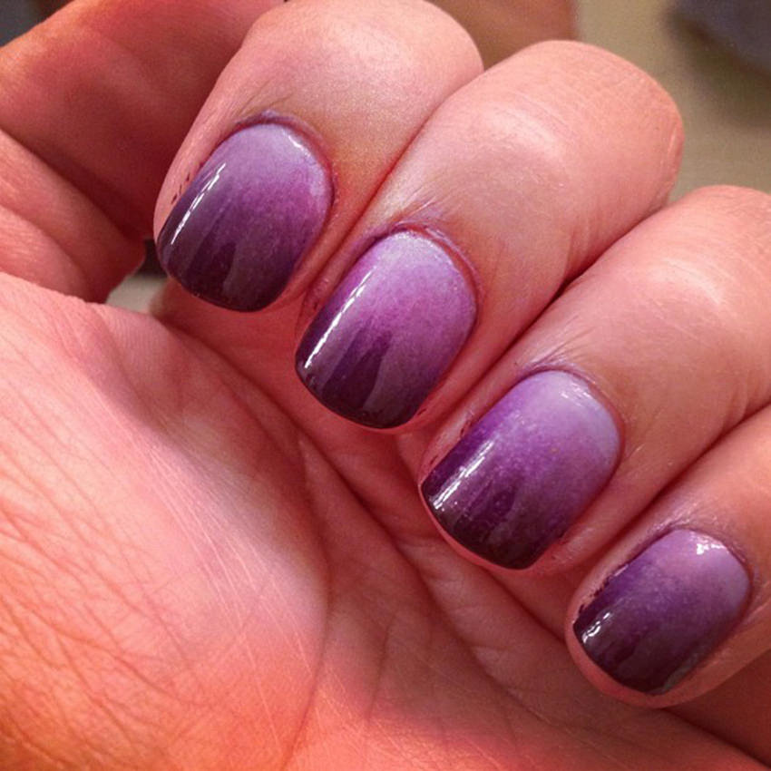 ombre cute nails pic