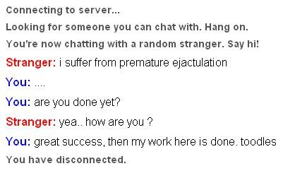 omegle - chat to a stranger