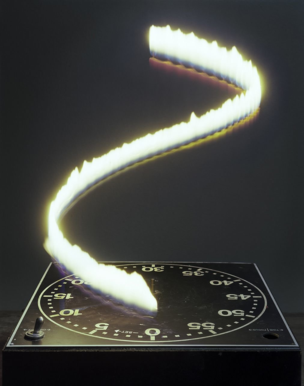 hour candle clock