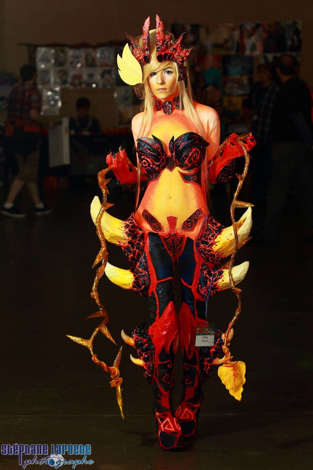 original wildfire zyra cosplay