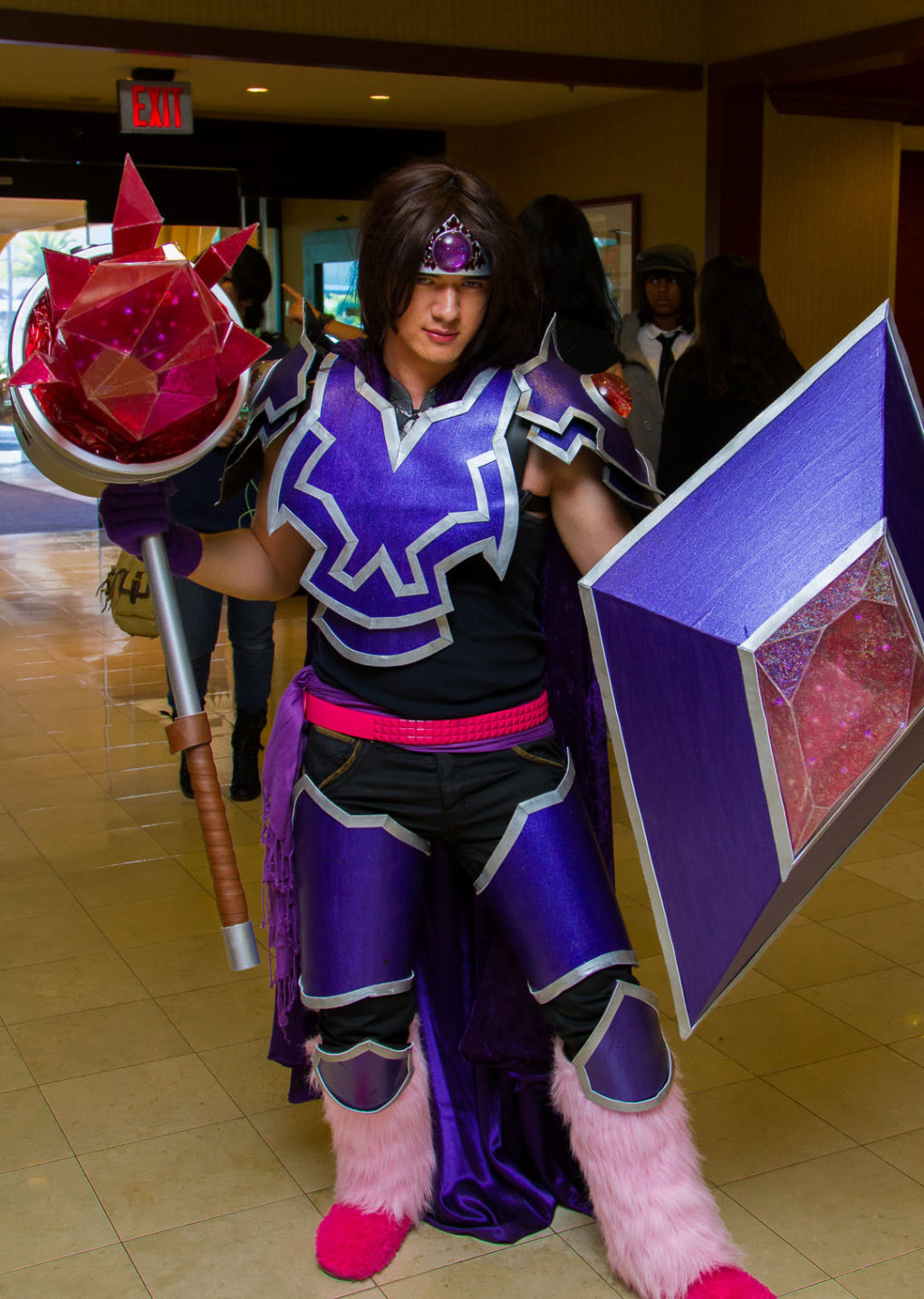 outrageous taric cosplay