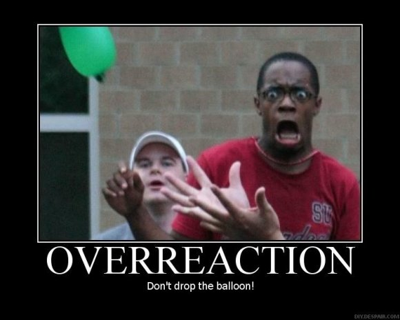 overraction expressions