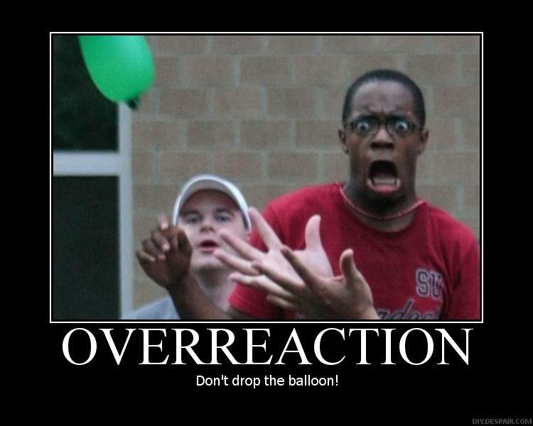 overraction - expressions!....