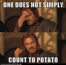 p - one does not simply....