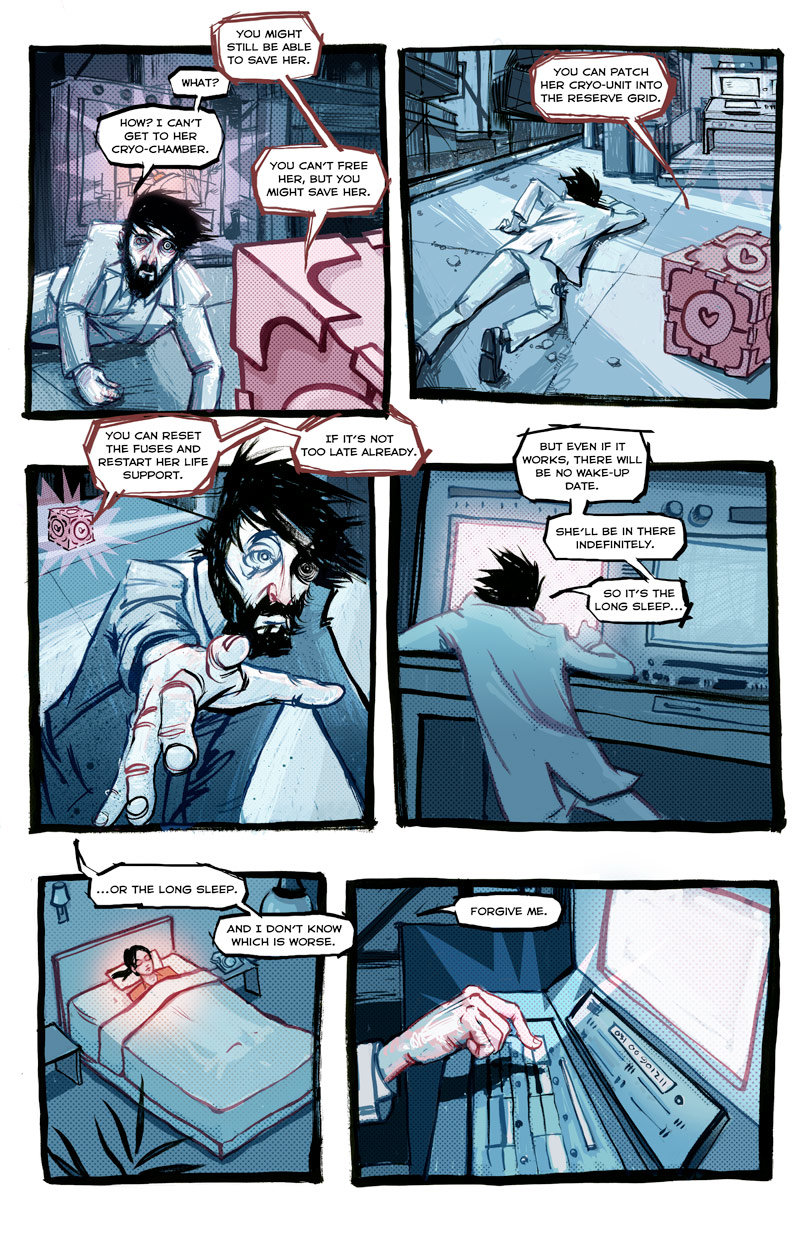 p24 - lab rat comic