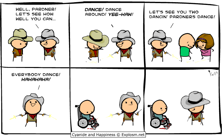 pardner - cyanide & happiness pt 2