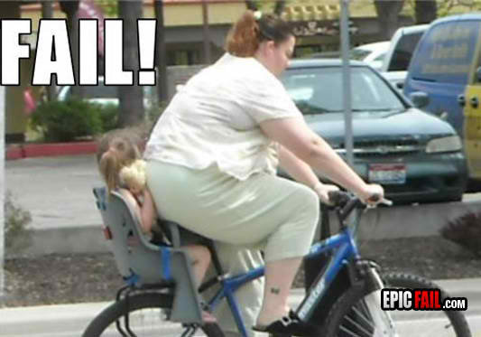 parenting fail fat kid back