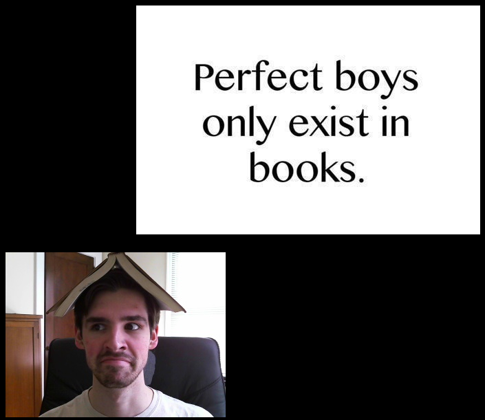 perfect boys only exist books