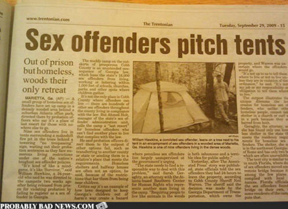pitch20tents thumb 572xauto 203268 - more random lulz (+27 awesomely inappropriate news headlines)