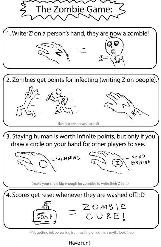 play zombie game fun