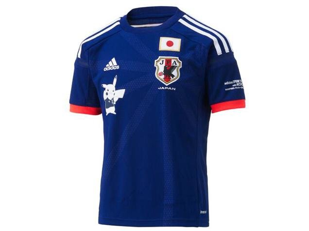 pokemon going world cup japanese national team will wear pikachu when