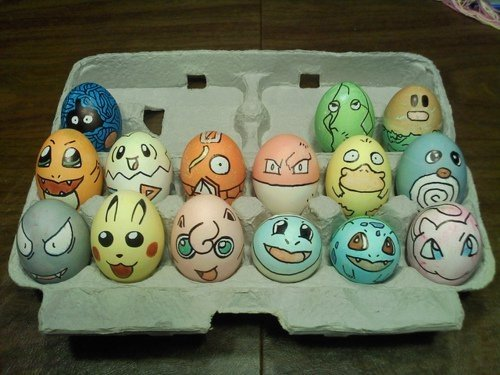 pokemon invaded your easter eggs
