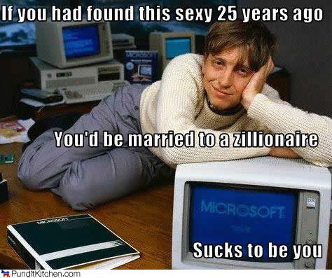 political pictures bill gates microsift sexy attractive