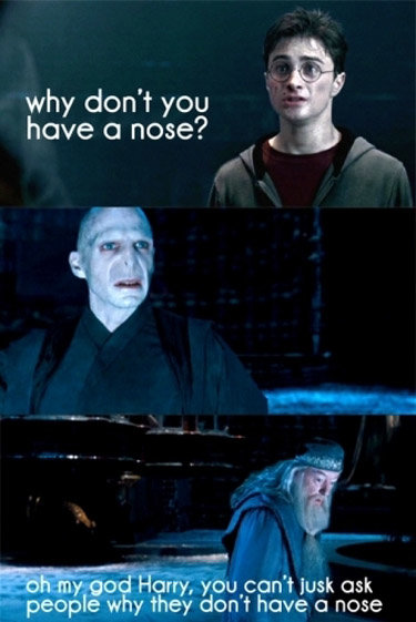 potter ask nose