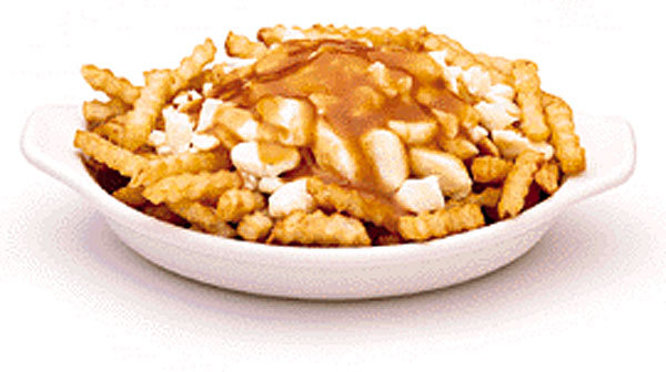 poutine - canada's greatest invention.