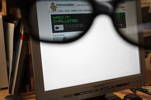 privacy monitor hacked from lcd monitor