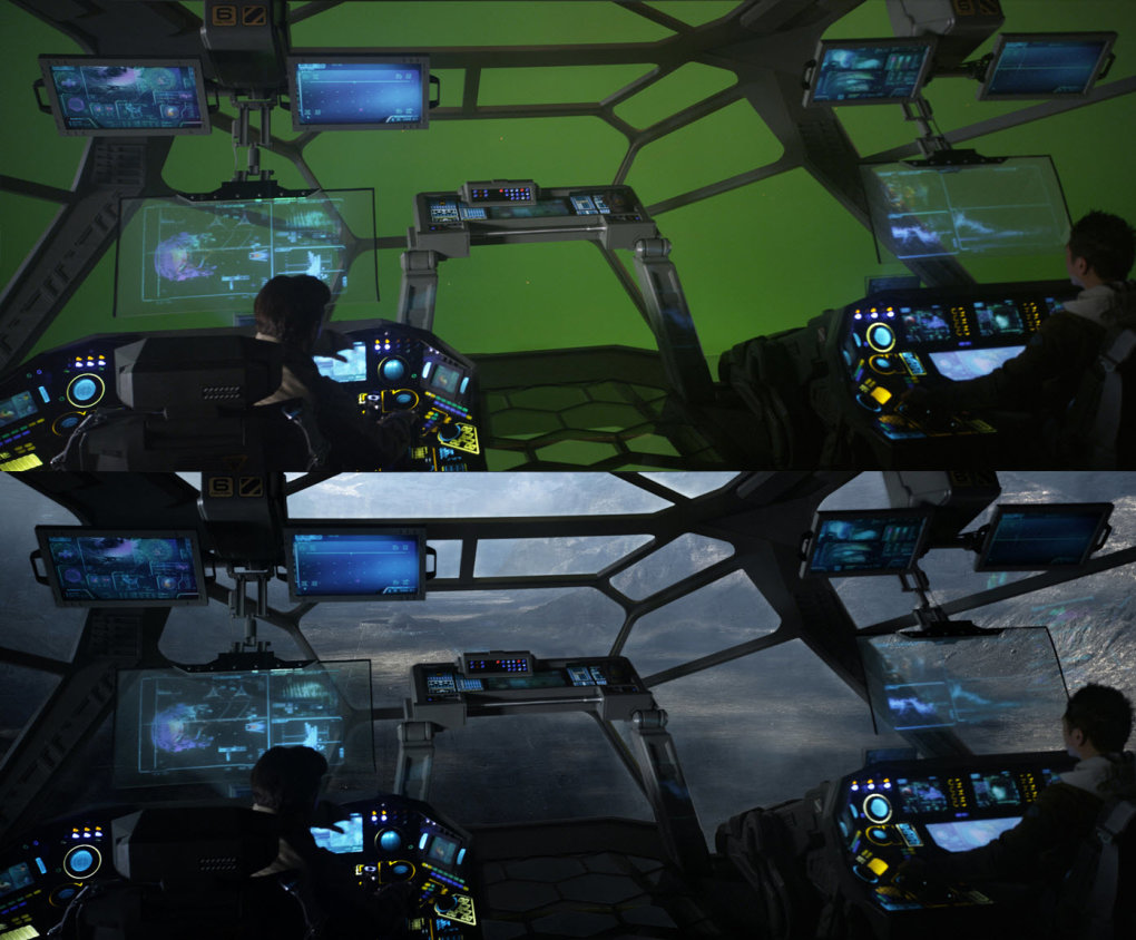prometheus - would you watch these movies without any special effects?