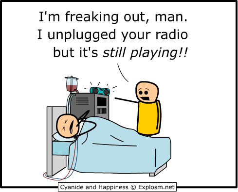 pulltheplug1 - my first post random cyanide and happiness sorry for any reposts