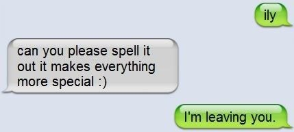 pwned your girlfriend text message