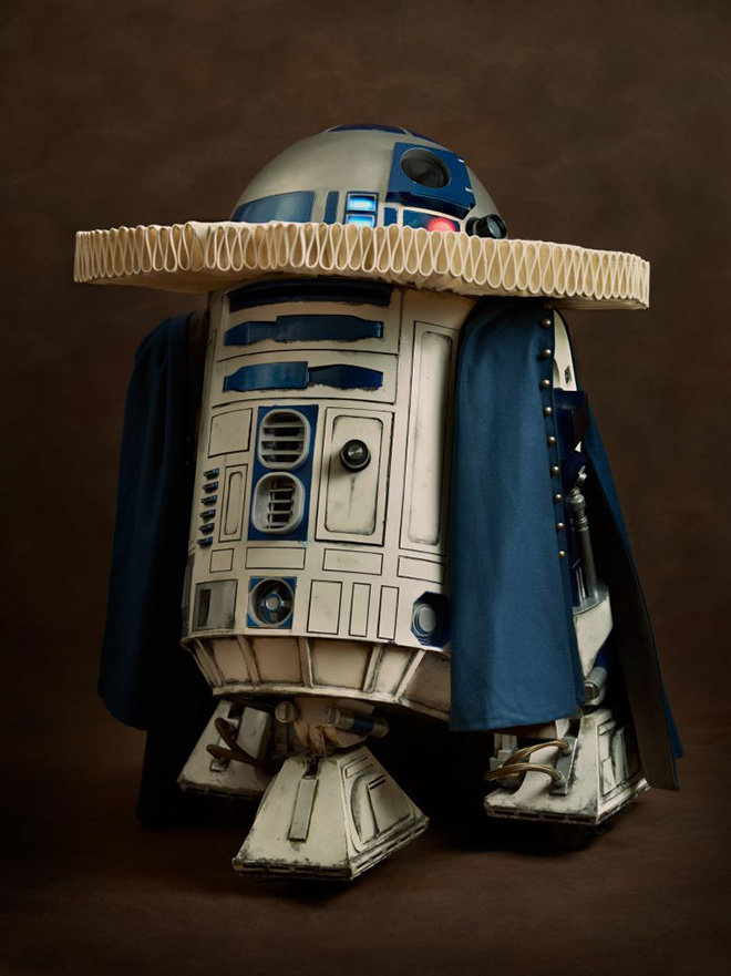r2 d2 - modern superheroes go back to the 16th century