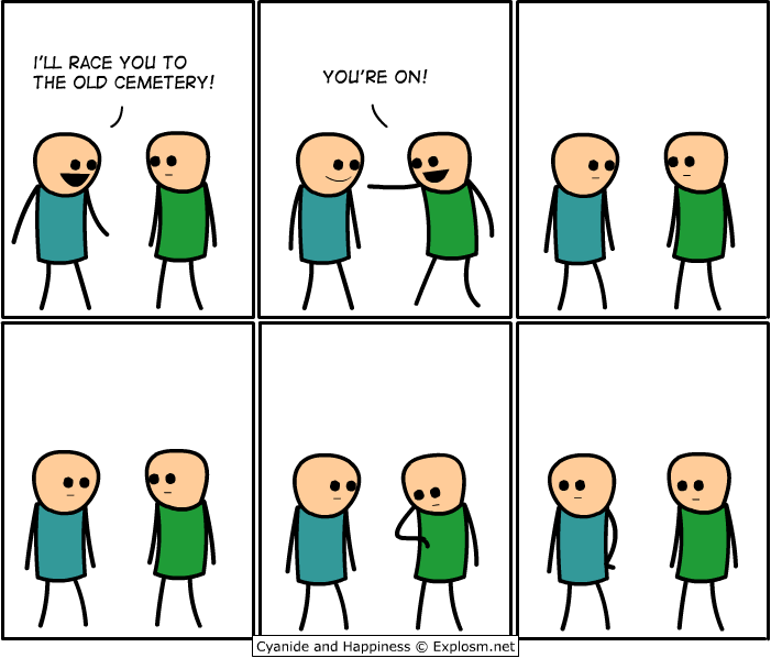 race - thank the lord for explosm.net