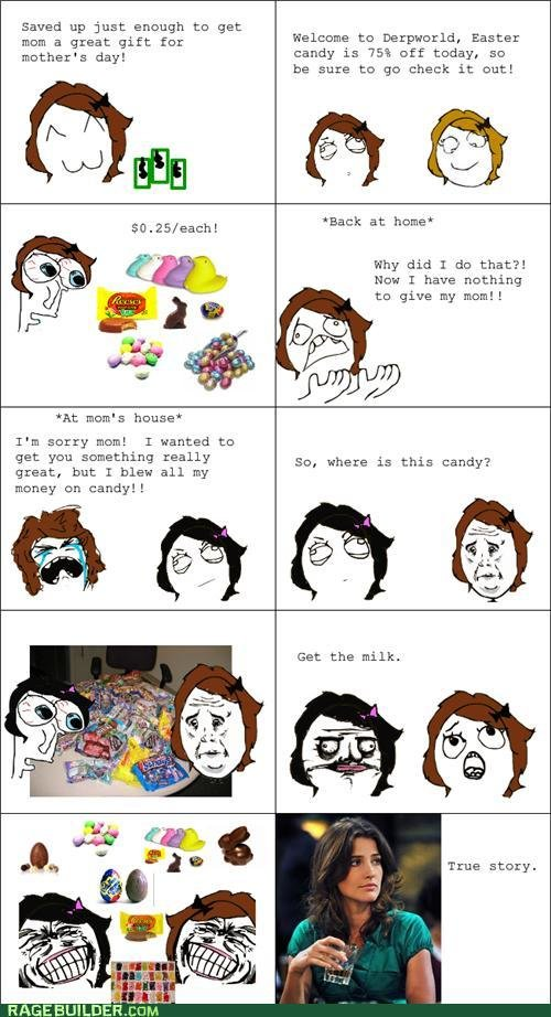 rage comics mothers day shopping trip
