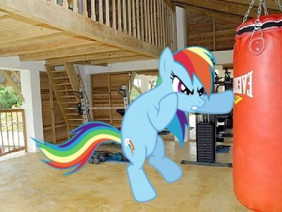 rainbow working out
