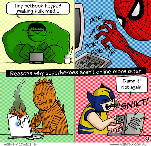 reasons why superheroes arent online often