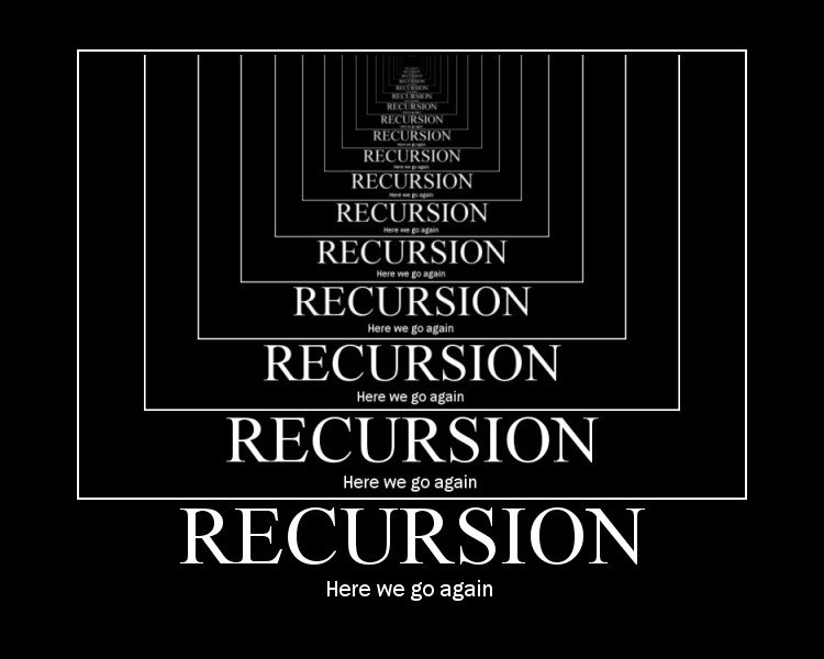 recursionagain - i did it for the lolz: part 4