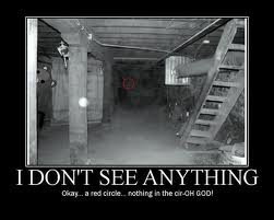 red circle scary
