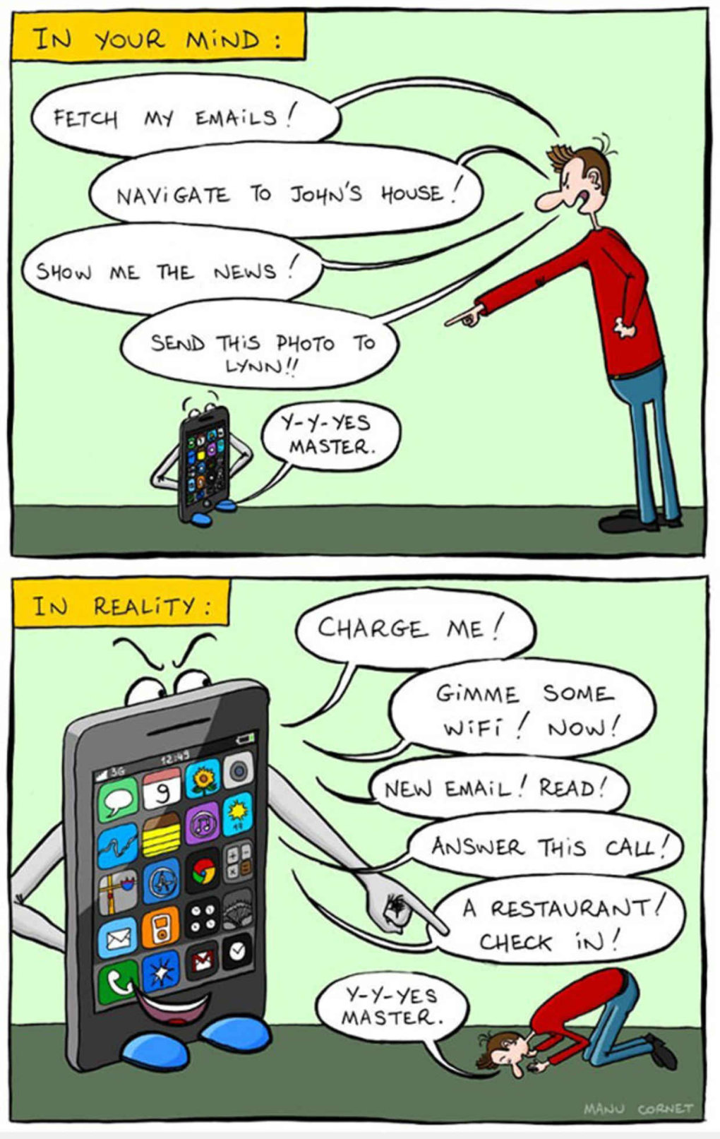 relationship your phone