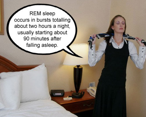 rem sleep occurs