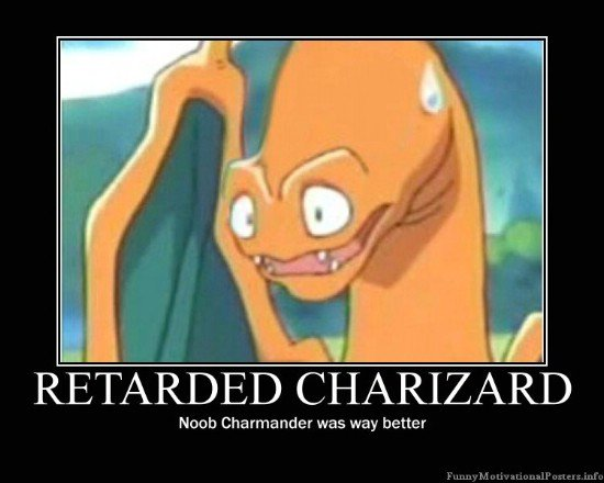 retarded charizard