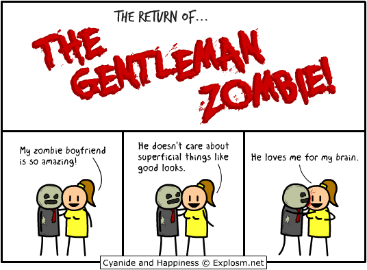 return gentleman zombie