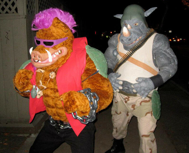 rocksteady bebop cosplay
