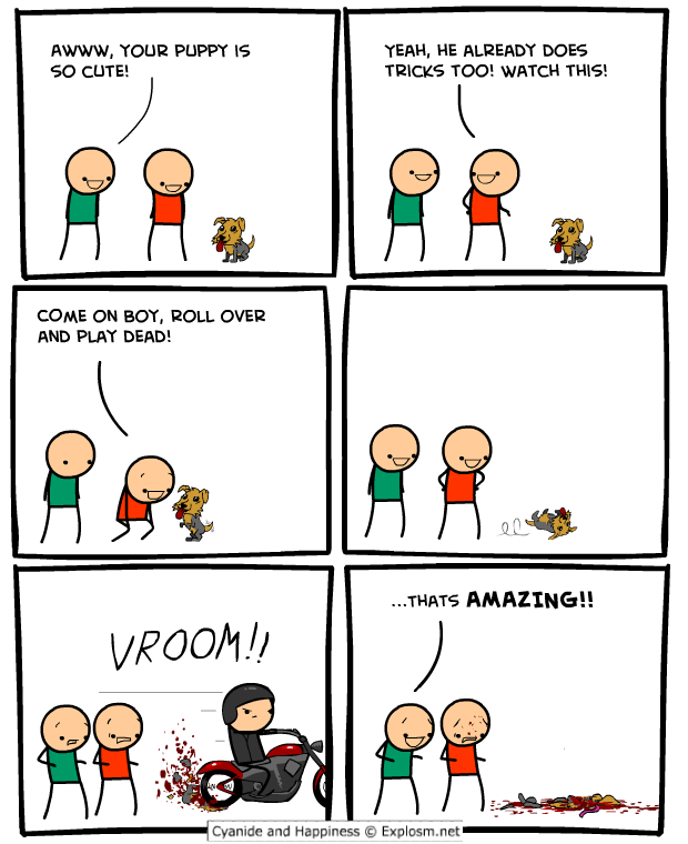 roll over - cyanide and happiness collection three