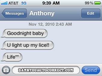 romantic - damn you auto correct! ( 35 ) part 2!
