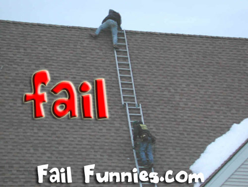 roof safety fail