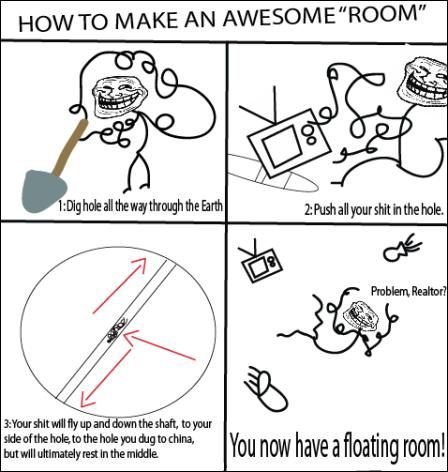 room - even more troll science.....again!!!!