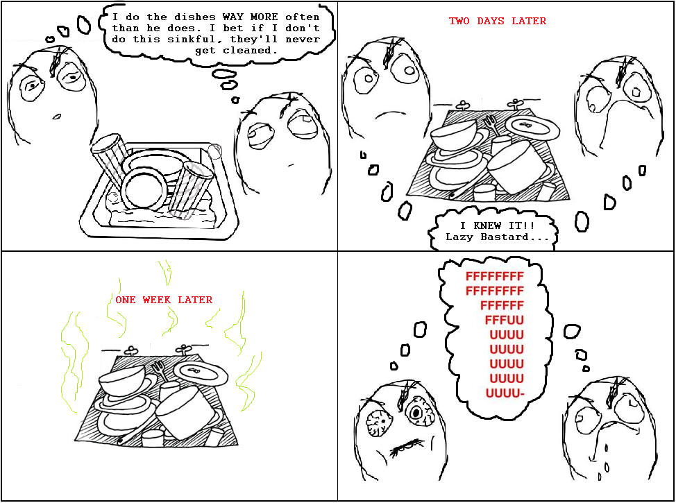 roommates - more rage comics  ( 19 pics )