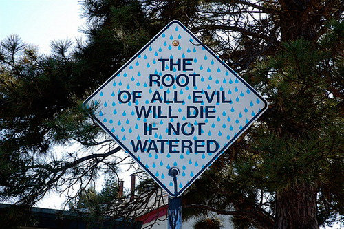 root all evil
