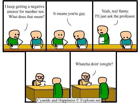 rprofessor - cyanide and happiness 1