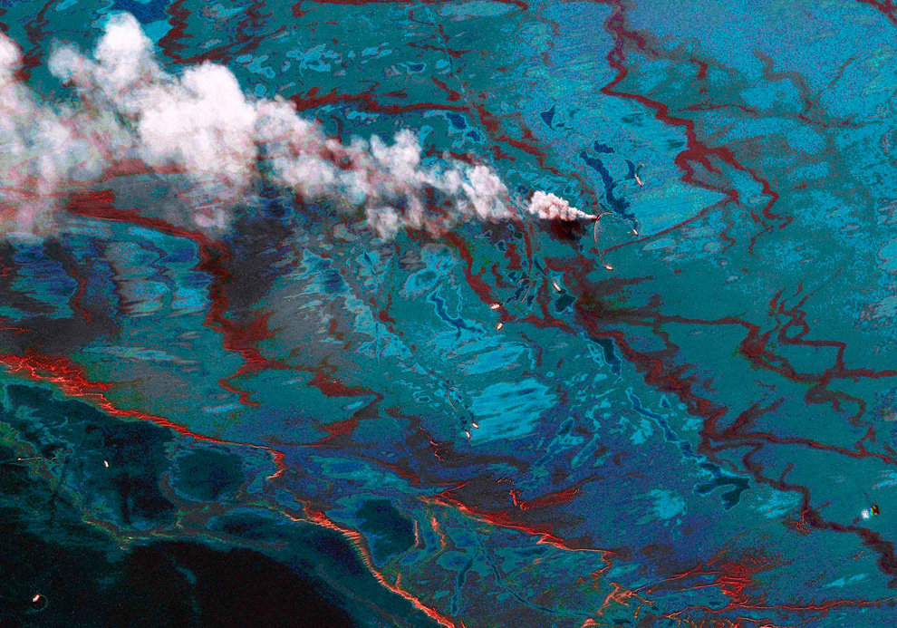 s20 23910675 - oil in the gulf, two months later