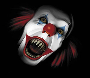 scaryclown - i wonder why people are scared of clowns