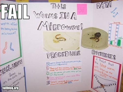 science6 - some funny science projects lol hard.